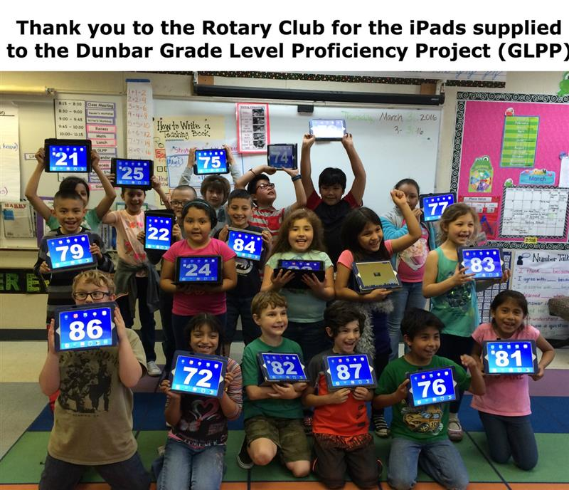 Thank you Rotary Club