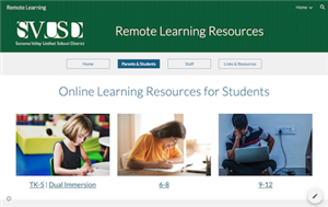 SVUSD Remote Learning